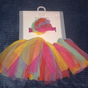 Baby girl tutu and head band